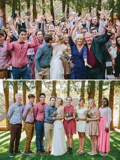 Bridesmaids dresses: Cream and Dangerfield / Grooms attire: A mix of, Trade Secret, Myer - Australian Garden Wedding by Leah Kua - via magnoliaouge