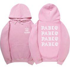 I Feel Like Pablo Pink Hoodie