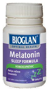 Amazon.com: Bioglan Melatonin (Homeopathic) 90 Tabs: Health & Personal Care my friend Julia wrote: finally found a herbal remedy that helps with my insomnia. Had a really deep sleep the last 2 nights. I've gone from averaging one and a half to three hours sleep per night to six and a half or seven hours of sleep and it doesnt take me long to fall asleep either. Cant tell you how grateful I am.
