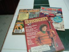 Vintage The Workbasket magazine by luckyrosiescreations on Etsy, $5.00