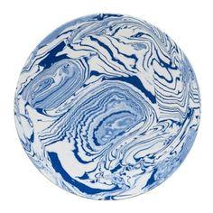 Hexagone Round Platter found on Polyvore featuring home, kitchen & dining, serveware, blue and white stoneware, dessert serving platters, blue and white serving platter, dessert platters and blue white stoneware