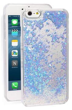 Skinnydip Glitter Liquid iPhone 6 Plus & 6s Plus Case available at #Nordstrom