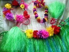 Modern-day Neanderthal shares her ABCs: Inexpensive Hawaiian Grass Skirt Costume for Kids