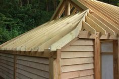 A fitting timber garage - Oliver Gibbs Carpentry & Joinery, Shrewsbury