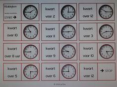 Domino kwartieren oefenen. Te downloaden van digischool o.v.v. Ria R.
