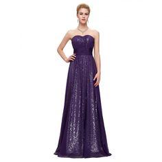b638ff11ff51 17 najlepších obrázkov z nástenky Fialové spoločenské šaty