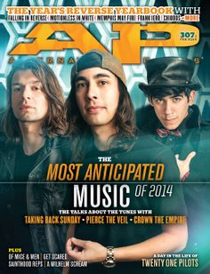 AP 307.1 // Feb 2014 // The Most Anticipated Music of 2014