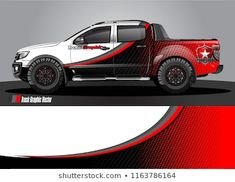 truck and car graphic vector. simple curved shape with grunge background design for vehicle vinyl wrap Nissan 4x4, Nissan Trucks, Nissan Frontier, Ford Ranger Wildtrak, Vehicle Signage, New Luxury Cars, Truck Paint, Truck Design, Car Painting