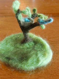 fuzzy little tree