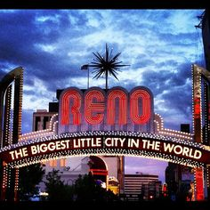 @bsampson Yep. Reno, Nevada. Storms a brewing.