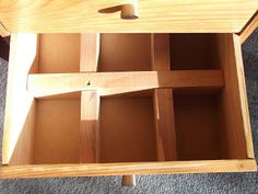 A divided drawer for sorting!