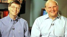 Bill Gates y Steve Ballmer