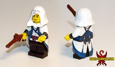 LEGO Assassin's Creed III Connor Kenway Minifig - Saber-Scorpion's Lair - Personal Website of Justin R. Stebbins