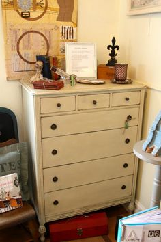 annie sloan country grey painted furniture pictures | country grey chest