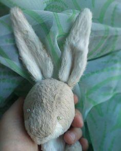 WEBSTA @ svetlana_zheleznova - Кролик рождается пасхальный)) выкройка Анны Ананьевой @anya.ananyeva #творческийпроцесс