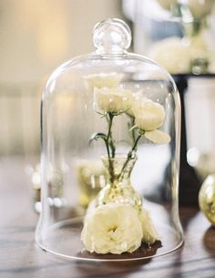 Bells Jars For Weddings – How To Style Them