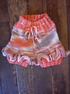 Wool Skirty in Peaches & Pirouettes