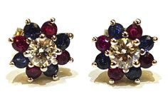 Red, White and Blue Earrings Bring Good Luck to Olympian Aly Raisman