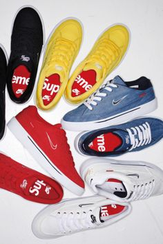 Supreme X Cdg Shirt X Nike Air Force 1(Af1) Eyes Ss17