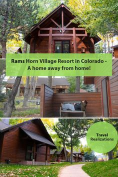 Rams Horn Village Resort in Colorado, USA is truly a home away from home! Autumn here is an art. The art here is care. Life is fulfilling amidst trees and peace. Canada Travel, Travel Usa, Travel Tips, Travel Advice, Travel Guides, Hotels And Resorts, Best Hotels, Us Travel Destinations, United States Travel
