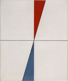 Point on Point, 1931-1934 Sophie Taeuber-Arp, Swiss Oil on canvas 25 1/2 x 21 1/4inches (64.8 x 54cm) Framed: 33 1/4 x 29 x 2 3/4 inches (84.5 x 73.7 x 7 cm) A. E. Gallatin Collection, 1952 1952-61-120