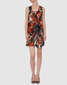 Multicolor silk dress on yoox.com for $79