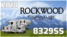2018 Forest River Rockwood Signature Ultra Lite 8329SS Travel Trailer RV For Sale All Seasons RV Buy this 2018 Rockwood Signature Ultra Lite 8329SS now at http://ift.tt/2rJqM6n or call All Seasons RV today at 231-760-8772!   Travel light with this 2018 Rockwood Signature Ultra Lite 8329SS travel trailer from All Seasons RV Supercenter in Muskegon!   Featuring an automotive front windshield this travel trailer has a fiberglass exterior with a high-gloss finish. Its also equipped with a…