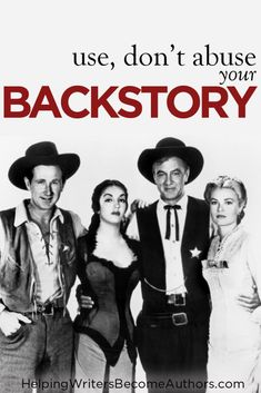 Learn the top three tips you need to know to use backstory effectively and avoid abusing it.