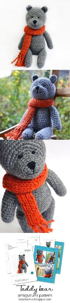 Teddy Bear Amigurumi Pattern