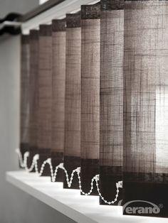 De #lamelgordijnen mogen weer! #Verano #verticalblinds