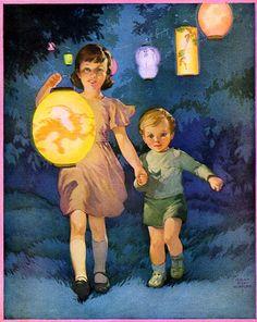 Chinese lanterns (Miriam Story Hurford)