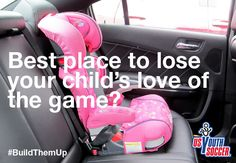 For some kids playing soccer, their biggest battle doesn't occur on the field, but rather in the backseat of the car on the way home, as one or both parents give their minute-by-minute recap of the game.