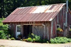 Gardening shed at the farm