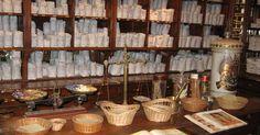 Pour Claire J. Visite de la grande herboristerie médicinale de la Place de Clichy