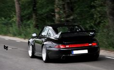 Black Porsche 993 GT2 #everyday993 #Porsche