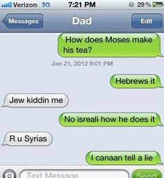 I love Bible jokes :)  I truly believe that everyone should have a good and healthy sense of humor! :D
