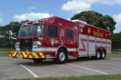 ◆Houston, TX FD Rescue 10 ~ Spartan Gladiator/SVI 26' Heavy Rescue Squad◆