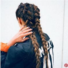 Double braids I love it SO much!