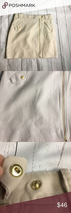 """J. Crew Factory Zip Skirt 
