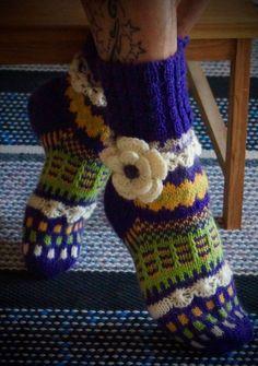 Невероятной красоты носочки от Anelmaiset (очень много фотографий). Обсуждение на LiveInternet - Российский Сервис Онлайн-Дневников