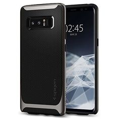 From Samsung Galaxy Note 8 Case Spigen [neo Hybrid] Galaxy Note 8 Case Cover With Flexible Inner Protection And Reinforced Hard Bumper Frame For Galaxy Note 8 - Arctic Silver - Samsung Galaxy Note 8, Galaxy Note Cases, Latest Smartphones, Hybrid Design, Screen Protector, Galaxies, Cell Phone Accessories, Cool Things To Buy, Phone Cases