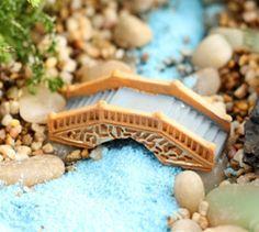 (Minimum order $5)1 pcs DIY bridge resin fantasy miniatures fairy garden terrarium home decor crafts bonsai bottle garden #Affiliate
