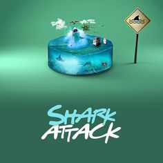 Shark Attack on Behance