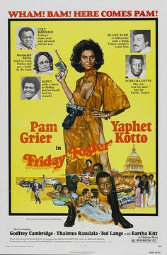 Black Cinema Series: Foxy Brown: Pam Grier in Friday Foster by Black History… Black Tv Shows, Old Tv Shows, African American Movies, American Actors, Good Girl, Foxy Brown Pam Grier, Afro, Film Serie, Classic Movies