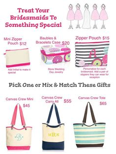 thirty one bridesmaid gifts 31 Gifts, Thirty One Gifts, Gifts For Wedding Party, Bridal Gifts, Party Gifts, Wedding Ideas, Maid Of Honour Gifts, Maid Of Honor, Thirty One Business