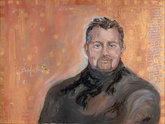 Dwaynes Spirit Capture oil Portrait  www.RobbiFirestone.com