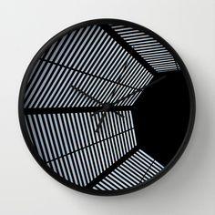 Structure Wall Clock by JoanaRosaC - $30.00