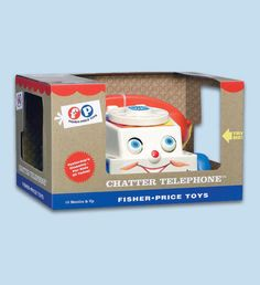 Fisher Price 'Classic Chatter Telephone: there is not a kid in the world who didn't love this toy!!