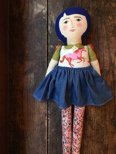 Mary handmade linen cotton and wool heirloom by BeardedFellas
