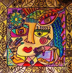 -garden Symbols Gem Goddess by Sandra Silberzweig